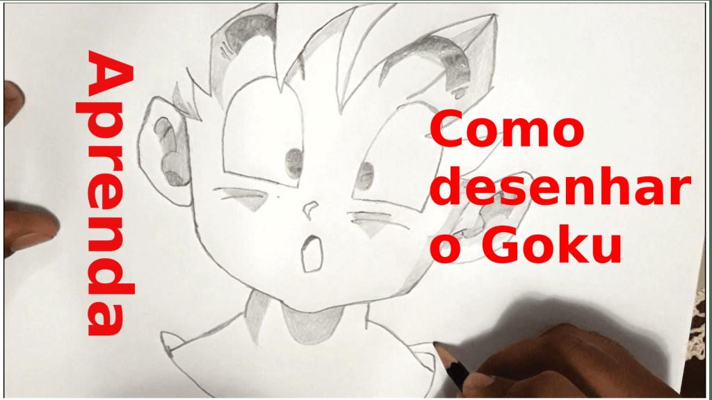 Como Desenhar O Goku Aprenda Desenhar O Personagem De