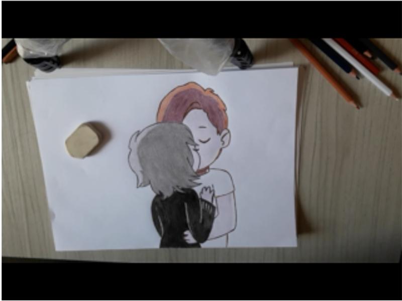 Desenho Tumblr Aprenda Como Desenhar Um Casal Estilo Tumblr