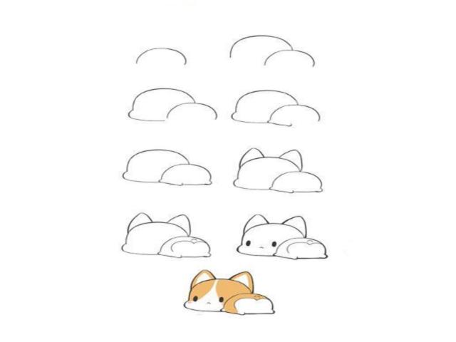 Desenhos Kawaii 4 Exemplos De Desenhos Facéis De Fazer