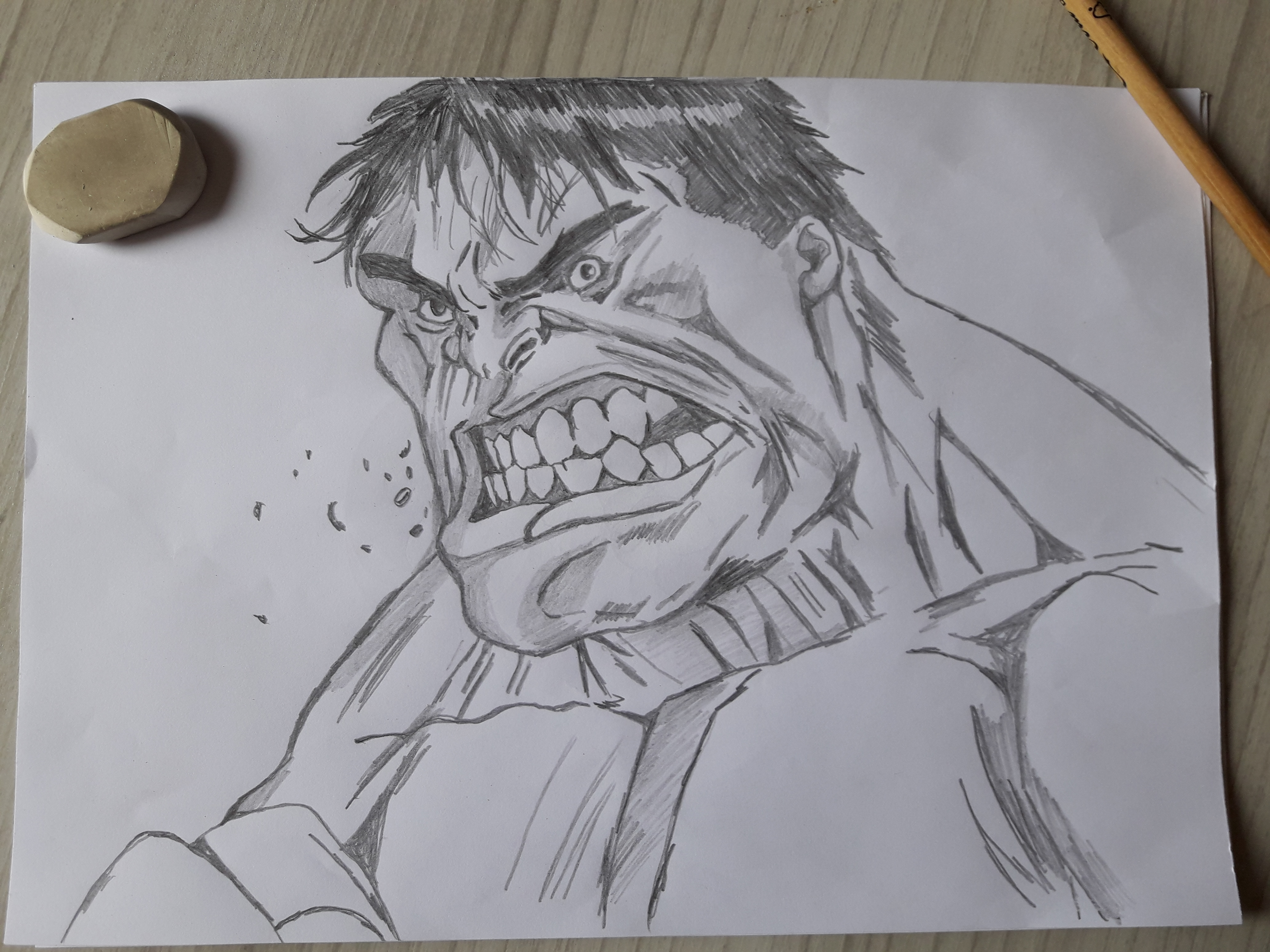 Hulk Como Desenhar O Homem Verde Passo A Passo Rápido
