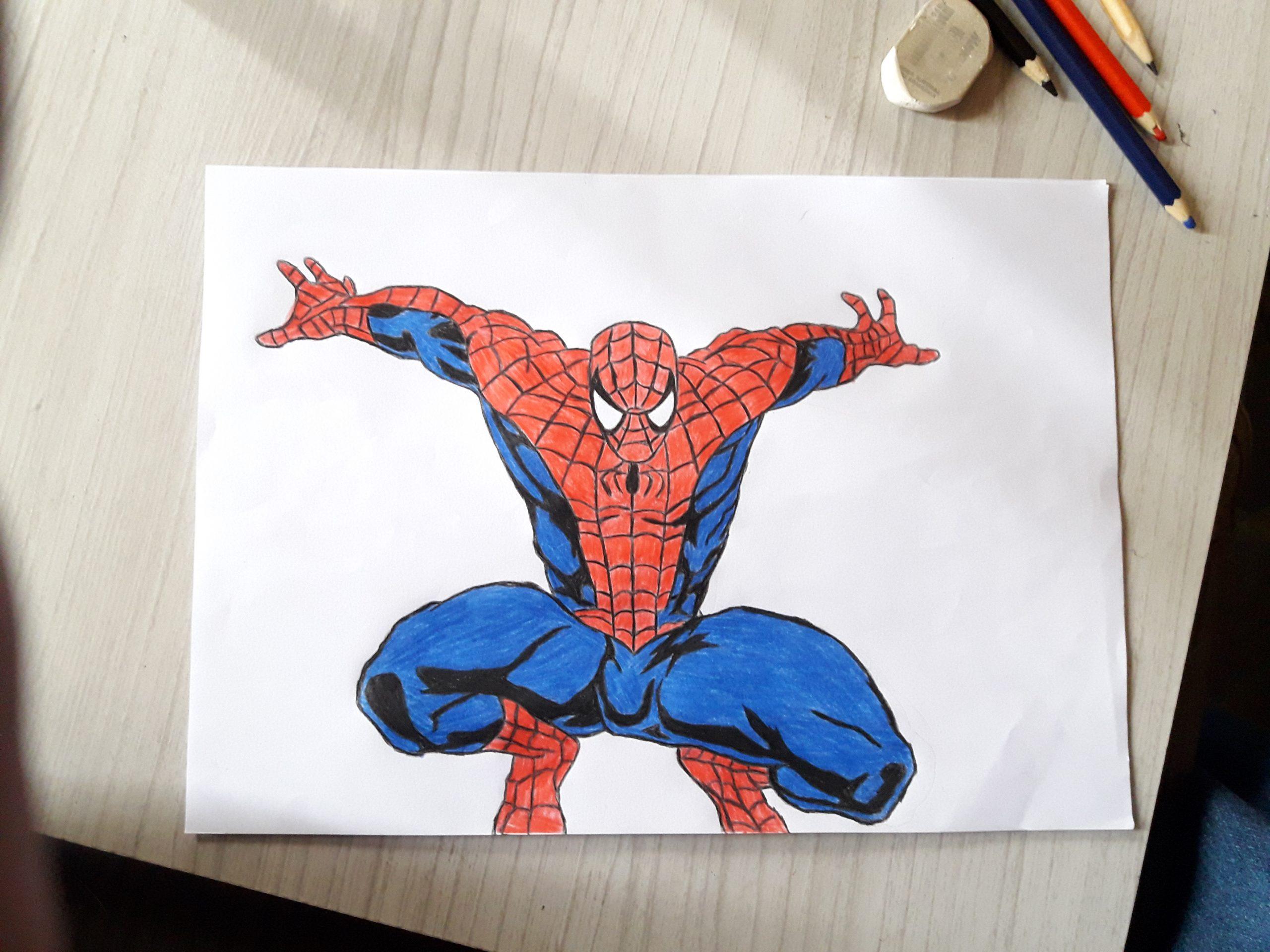 Homem Aranha Veja Como Desenha Lo Passo A Passo Facil